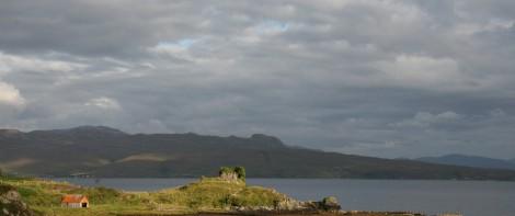 stuga cottage isle of skye skottland semester bostad stuga uthyres